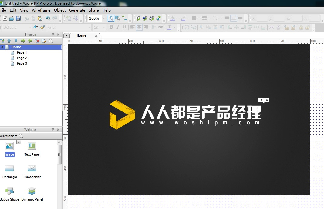 axure rp pro 6.5