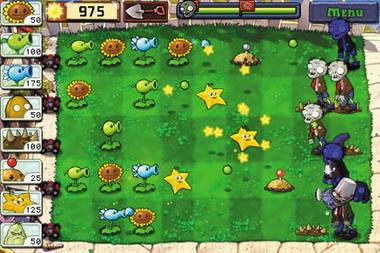 植物大战僵尸Ipad版就采用了关键帧技术