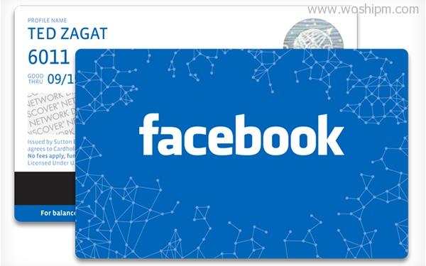 facebook card