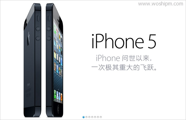 Apple-iPhone-5-更薄,更轻,更快,更好的-iPhone。