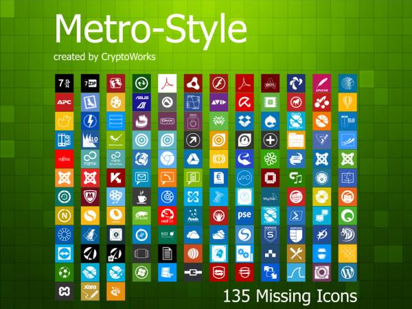 8. windows 8 icons