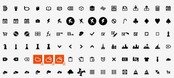 9. windows 8 icons