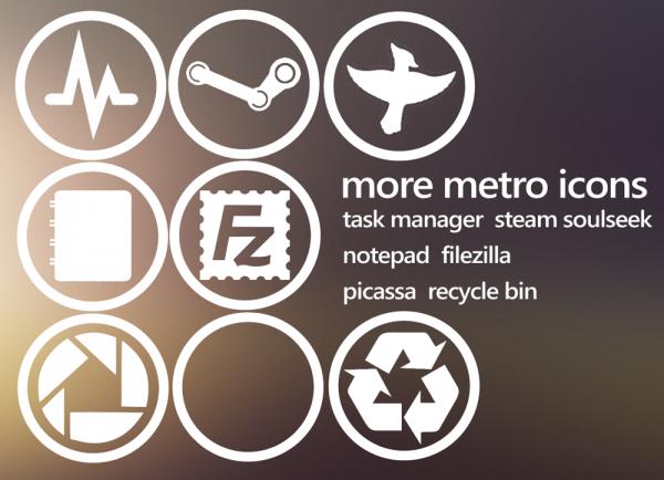 6. metro icons