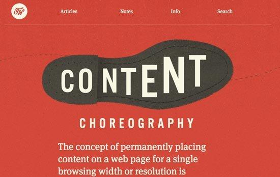 7个网页设计新趋势