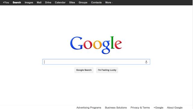 谷歌是如何以简洁赢取用户的?