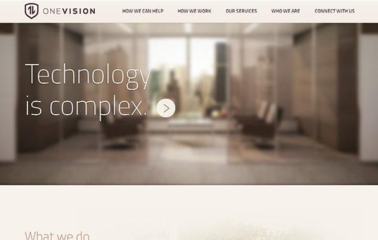 优设网 70个全球最华丽的互动型单页网站欣赏