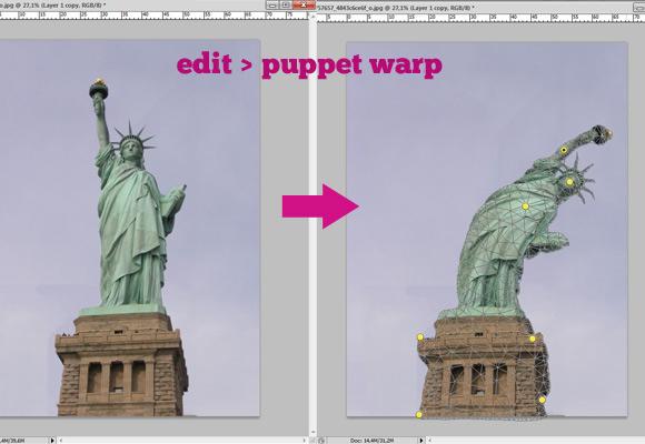 Puppet Warp