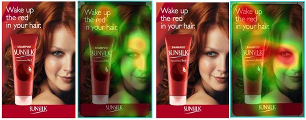 Sunsilk产品眼动研究