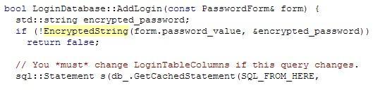 浏览器是如何存储密码的?