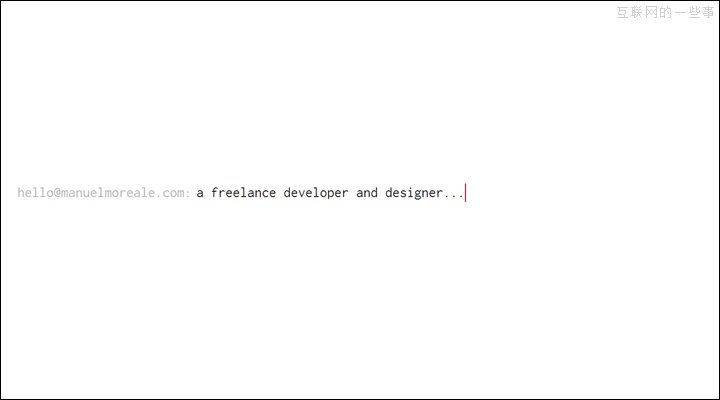 酷站欣赏:18例简约的网页设计案例赏析,互联网的一些事