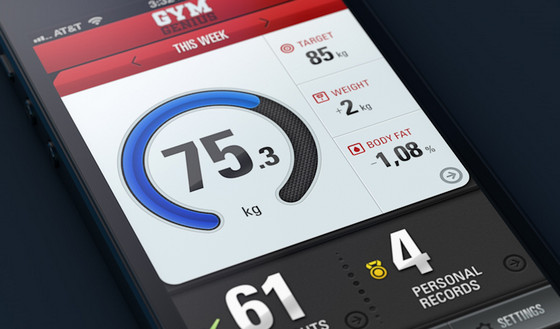 Gym Genius app UI by Artua