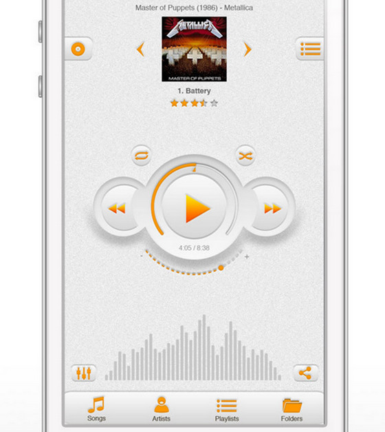 Music app by Andrew Fuller