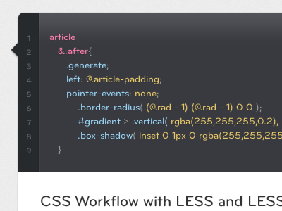 Less Coding