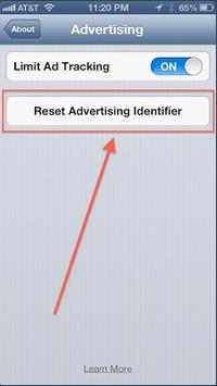 reset-ad-identifier
