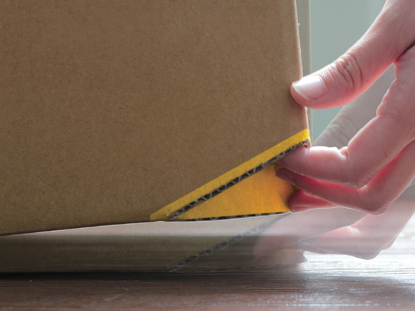 缺一角的箱子