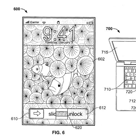 2009年Apple指纹识别专利截图