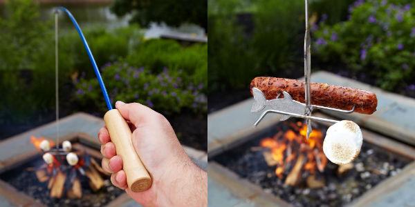 钓鱼 烧烤叉