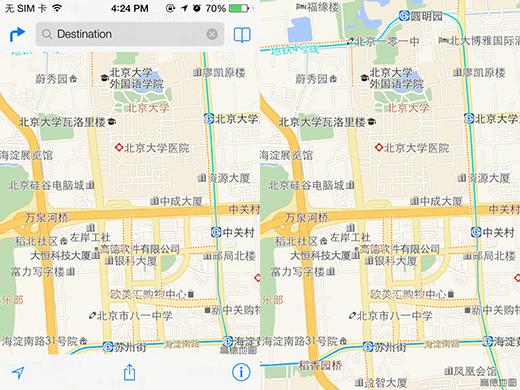 ios7地图