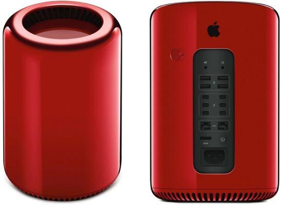 Mac Pro 红色