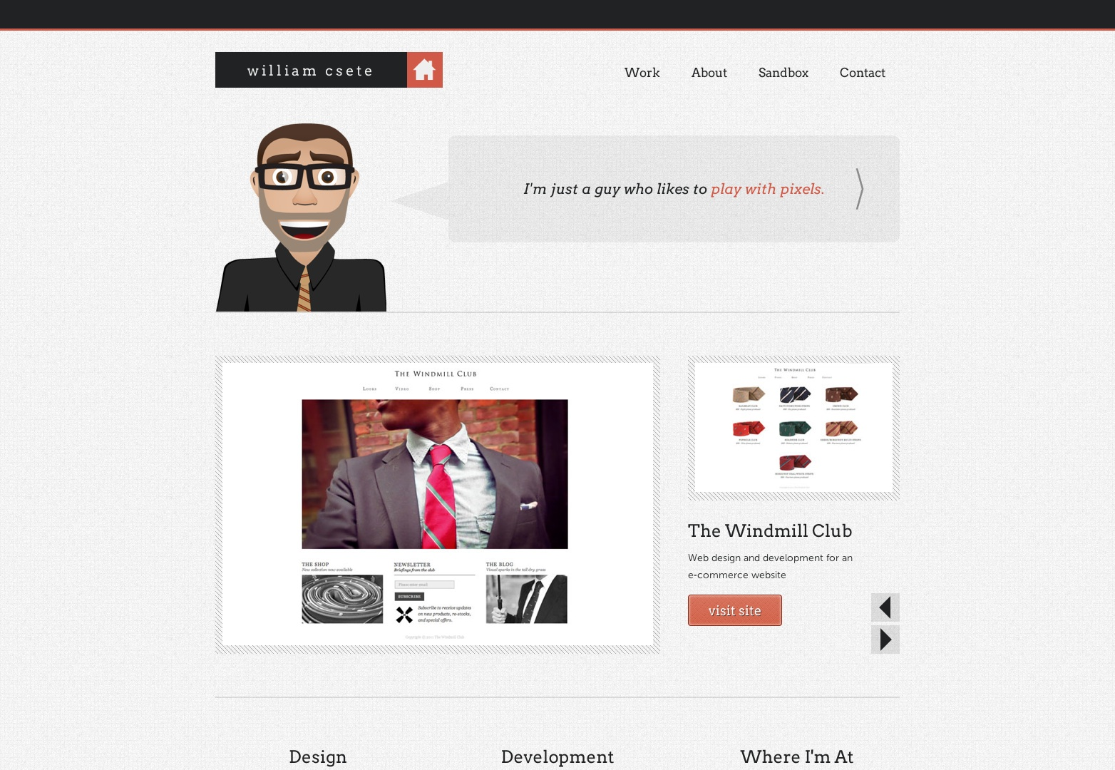 William Csete | Web Designer & Developer