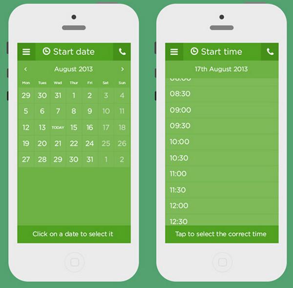 Zipcar App Redesigned by Aaron Buckley