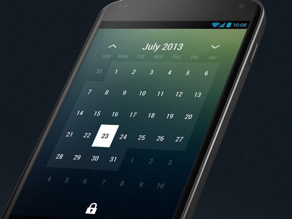 Month Calendar Widget by Roman Nurik