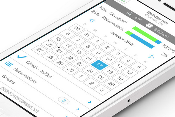 iOS Hotel Check-In App by Vimal Patel