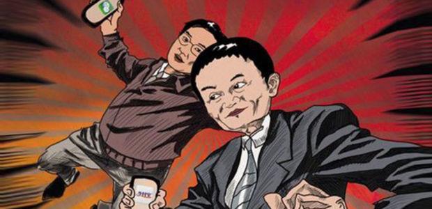 红包的福利:微信三战小胜支付宝