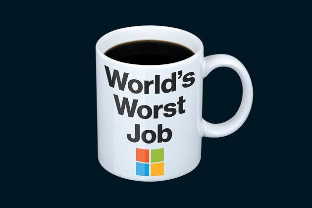 为什么没人想当微软CEO?