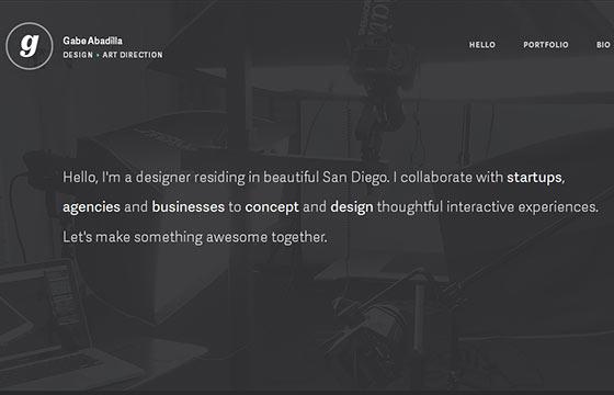 Fresh One Page Website Design