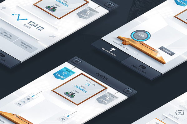 UI Design by Nemanja Milosevic