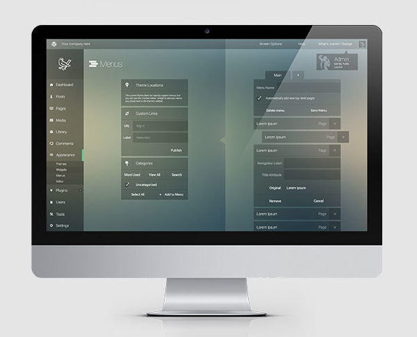 UI Design by George Kordas