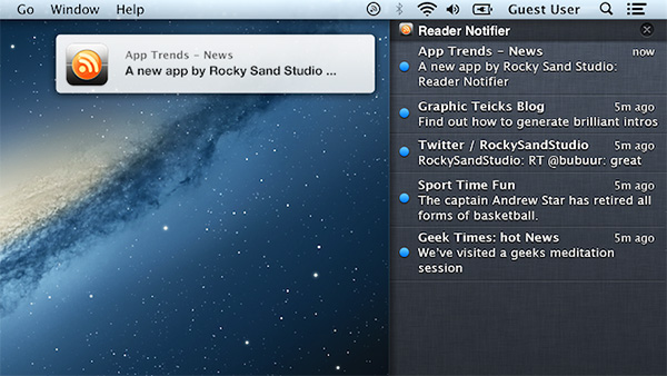 osx notifications