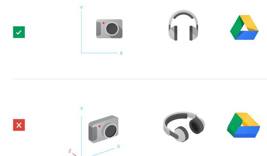 谷歌产品图标是如何设计出来的?