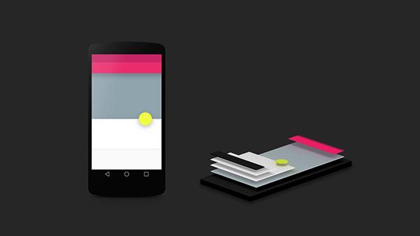 layering Google材料设计的精髓