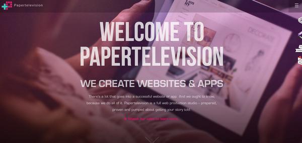 Papertelevision