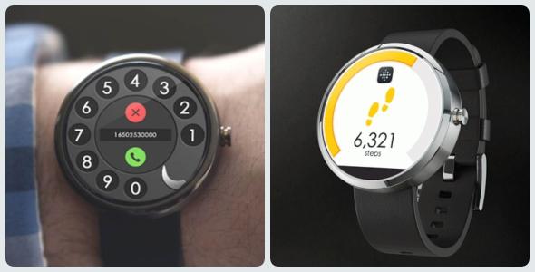 圆--智能手表UI设计