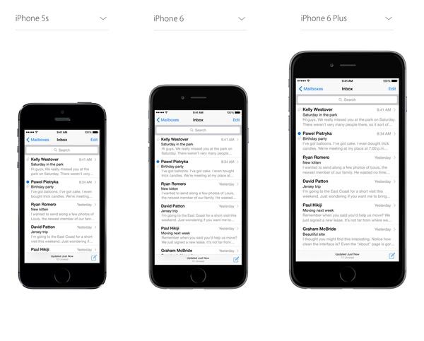 iPhone 6来了!如何改进工作流让设计稿支持多个尺寸?