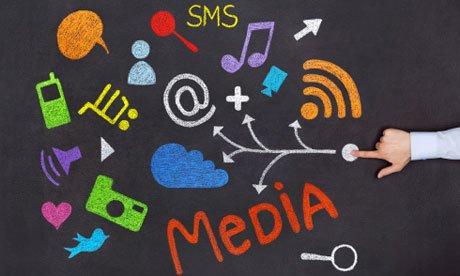 Salesforce: Social media concept