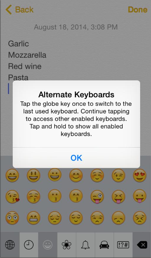 iOS 8人机界面指南(三):iOS技术(上)
