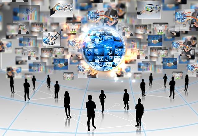 社群 连接 大数据 群体