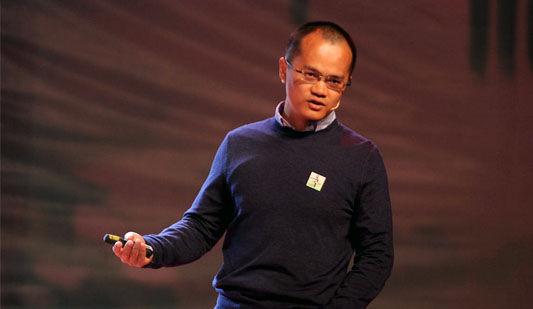 """王兴:互联网改造服务业的新趋势""""移动比特代替移动原子"""""""