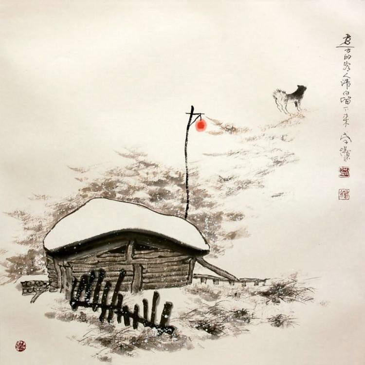 现代著名画家李鸣泉作品欣赏 - 李梨 - 李梨