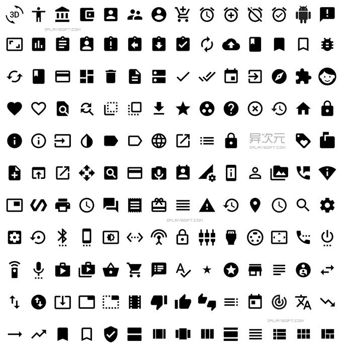 material design 图标