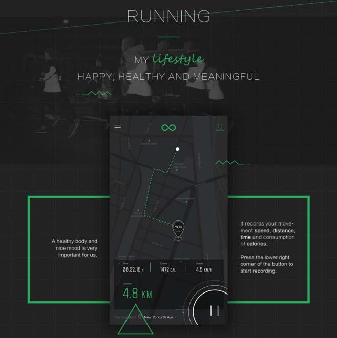优秀的app界面设计欣赏—运动类app设计-ui中国-专业