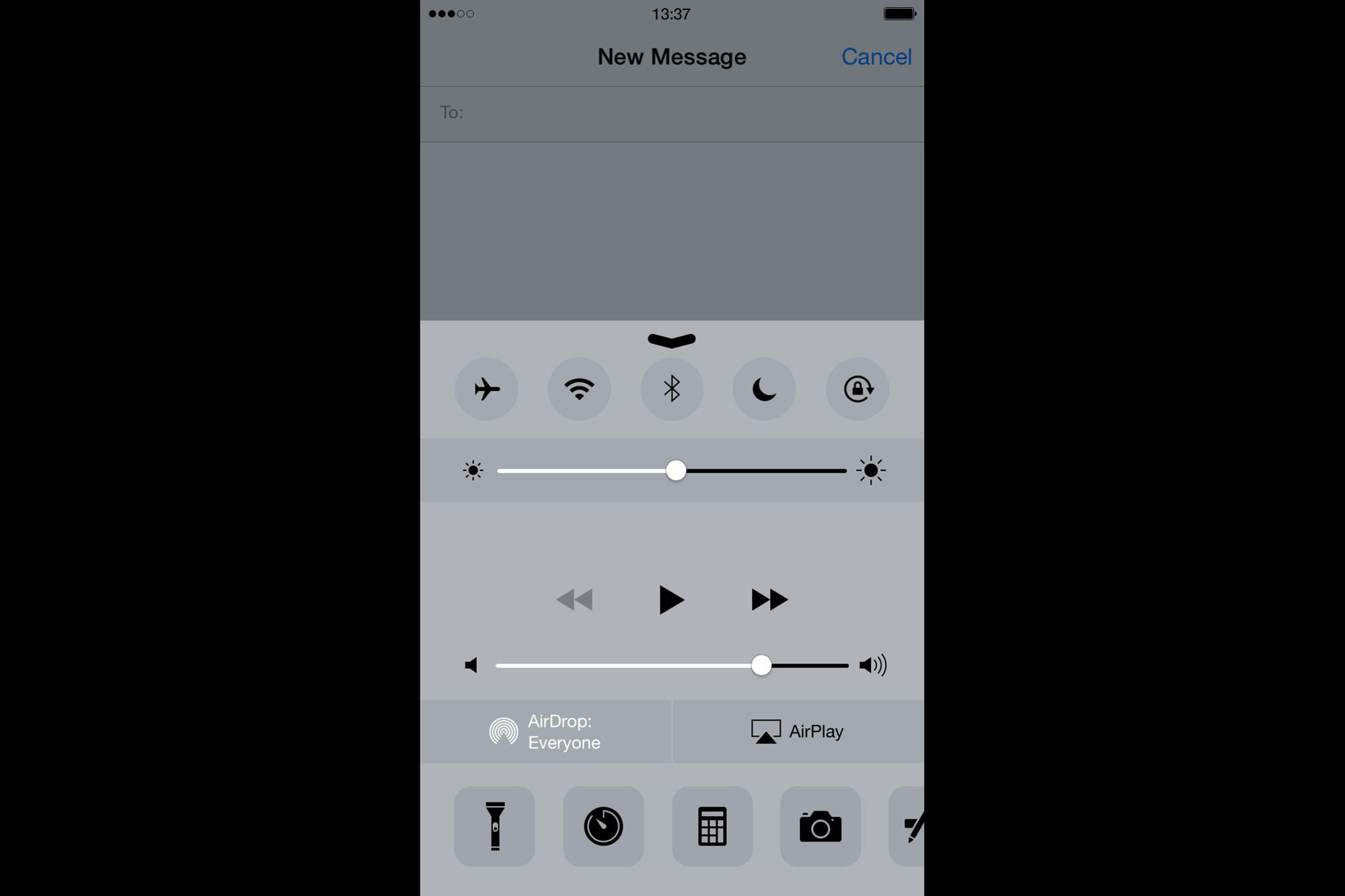 iPhone New Message
