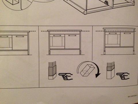 可以改变高度的小桌脚