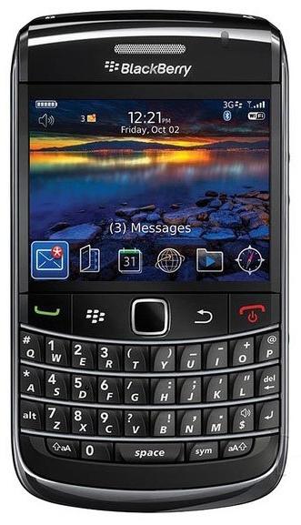 黑莓手机小红点