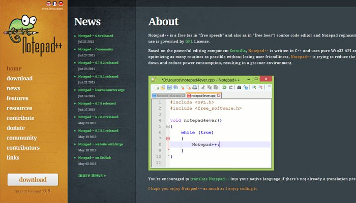 15-notepad-plusplus-software-homepage