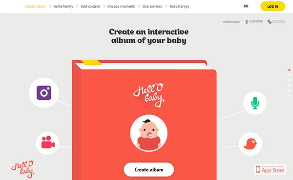 40个创意单页面网站设计